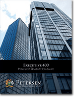 Executive/ White Collar Disability Brochure from Petersen International Underwriters