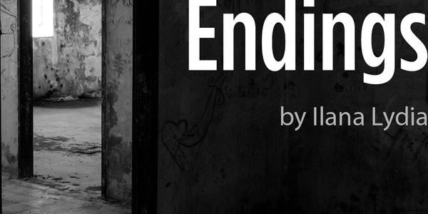 Play of Endings poster. Aside Theatre Company 2019