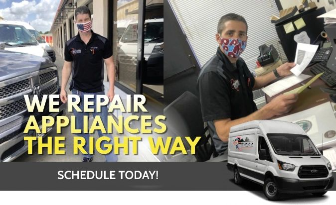 Appliance Repair Technicians in Houston and Galveston