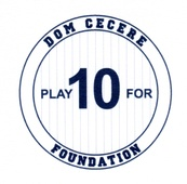 Dom Cecere Play for 10 Foundation