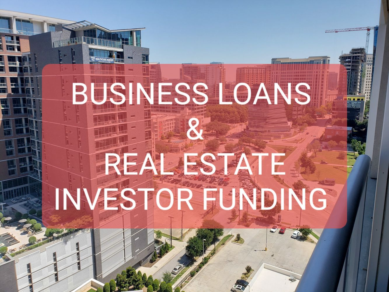 business loans and real estate investor funding. SBA loans, bank loans, hard money loans, finance