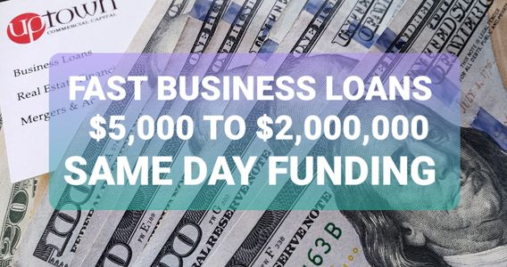 business loans, merchant cash advances, bank statement business loans