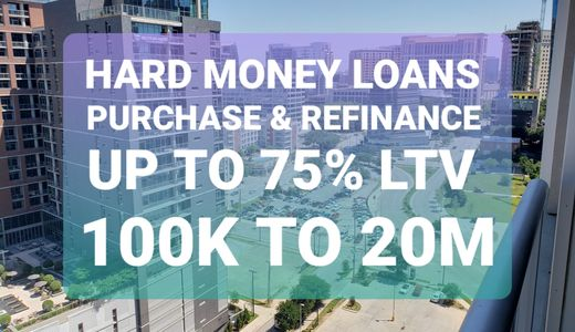 hard money bridge loans.  Bridge loans for real estate. Hard money refinance