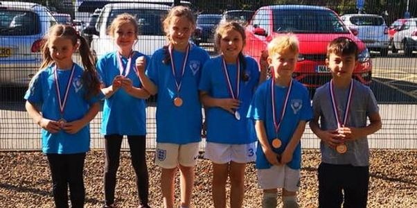 COMETS - Olivia Walker, Blossom Robson, Maisie Hewitson, Miles Massey, William Adams