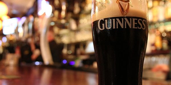 Guinness Pints $6.50 Happy Hour
