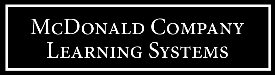 McDonald Company Learning Systems