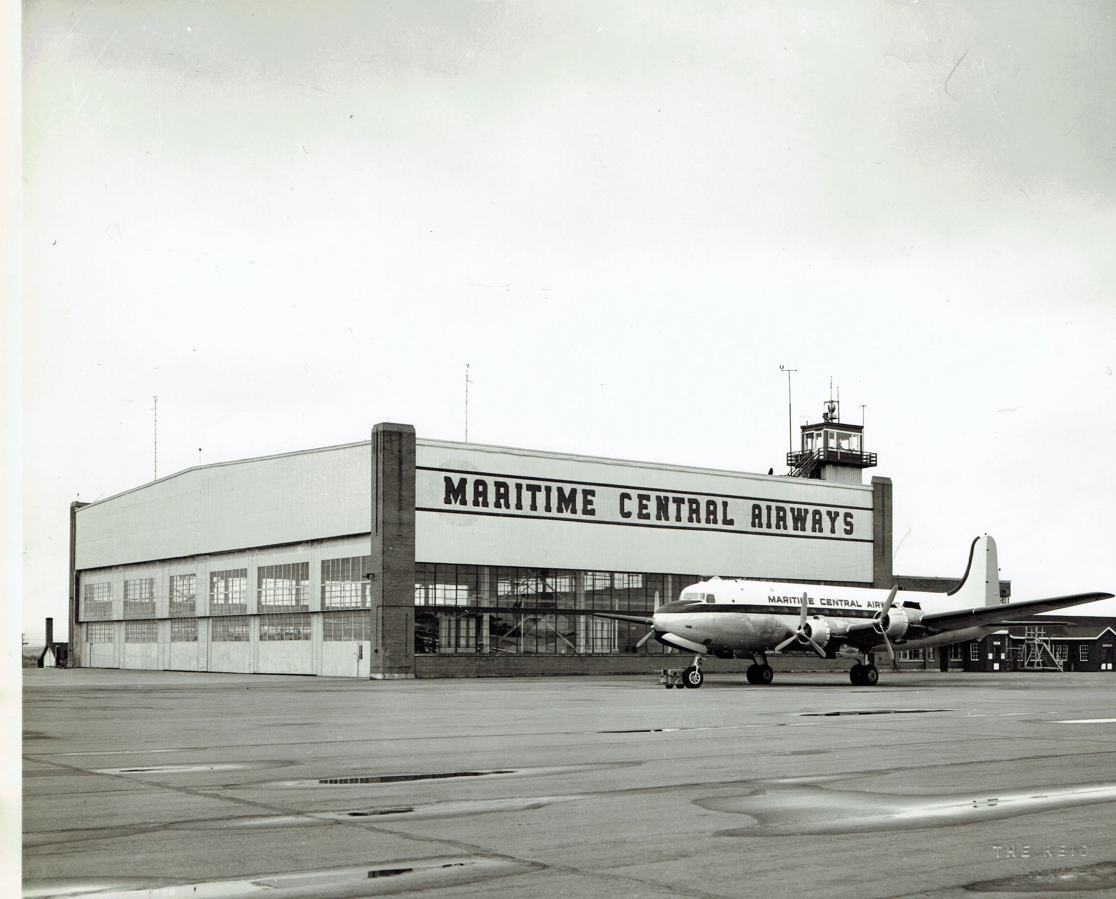 Maritime Central Airways (1941-1963) had its headquarters in Moncton, NB. Photo by Reid Studios.