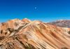 Setting Moon over Red Mountains-Dan Taber