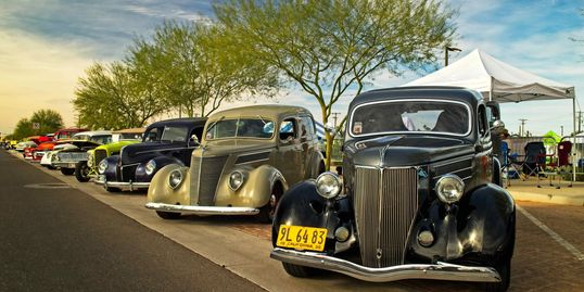Festival Of The Superstitions - Apache junction car show