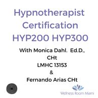 Hypnotherapy certification HYP200 HYP300