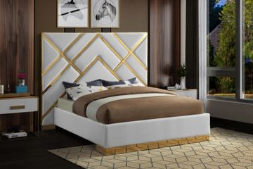 VECTOR FAUX LEATHER BED