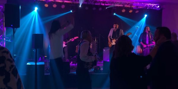Production (sound reinforcement and lighting) for bands, Awesome party