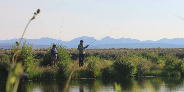 Fly casting lessons in Wyoming