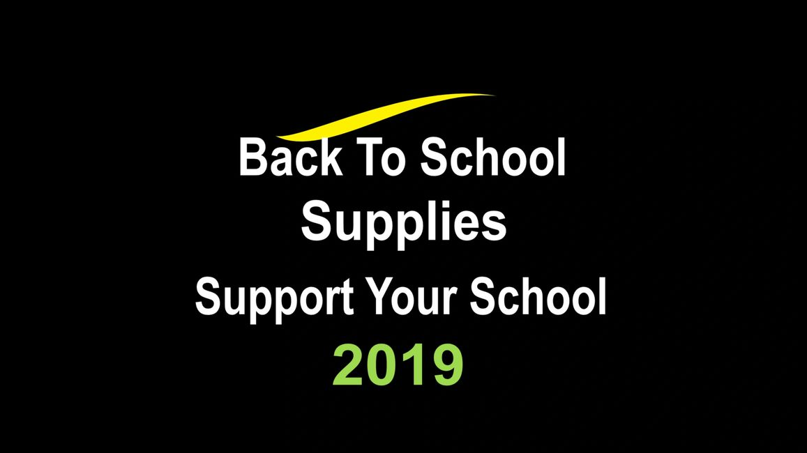 Operation School Supplies! Choose your school to help!