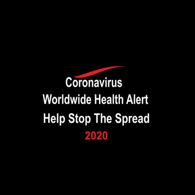 Coronavirus Worldwide Health Alert. Help Stop The Spread.