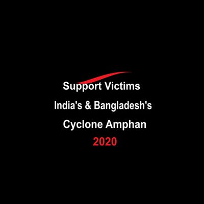 Support Victims of India's & Bangladesh's Cyclone Amphan. Disaster Relief Opulent Philanthropy Inc.