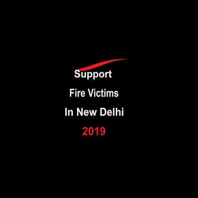 New Delhi Support Fire Victims