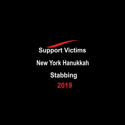 Support victims of New York Hanukkah Stabbing.