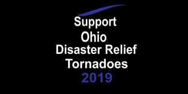 Support Ohio Disaster Relief Tornadoes Donate! Charity Organization 501 c3