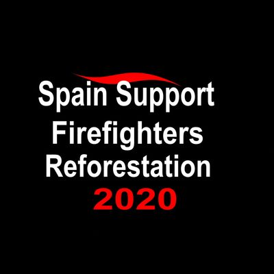 Spain Support Victims, Firefighters And Reforestation