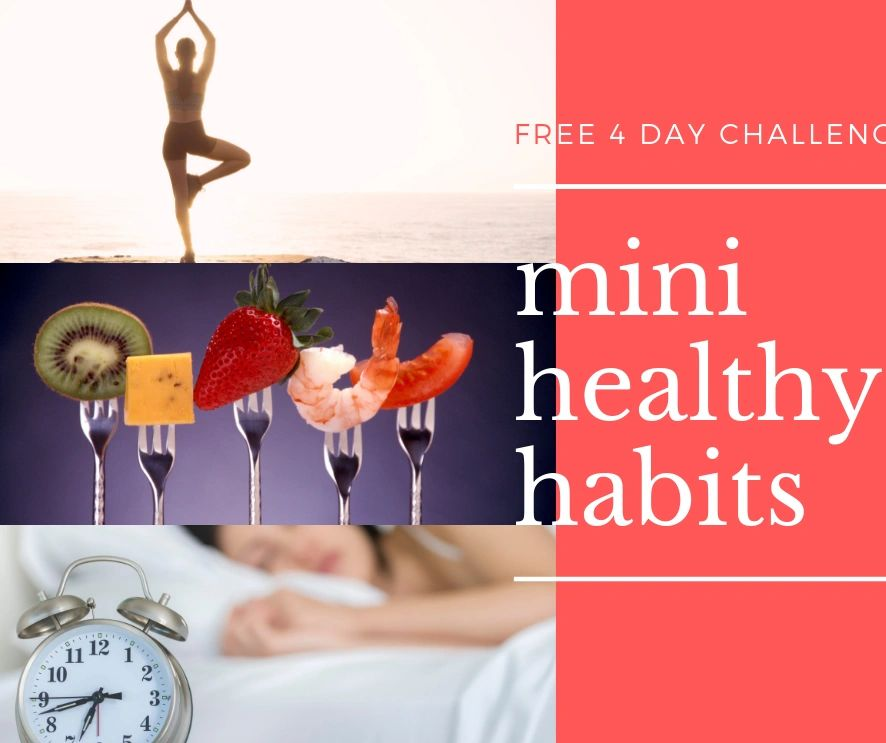 4 mini healthy habits challenge