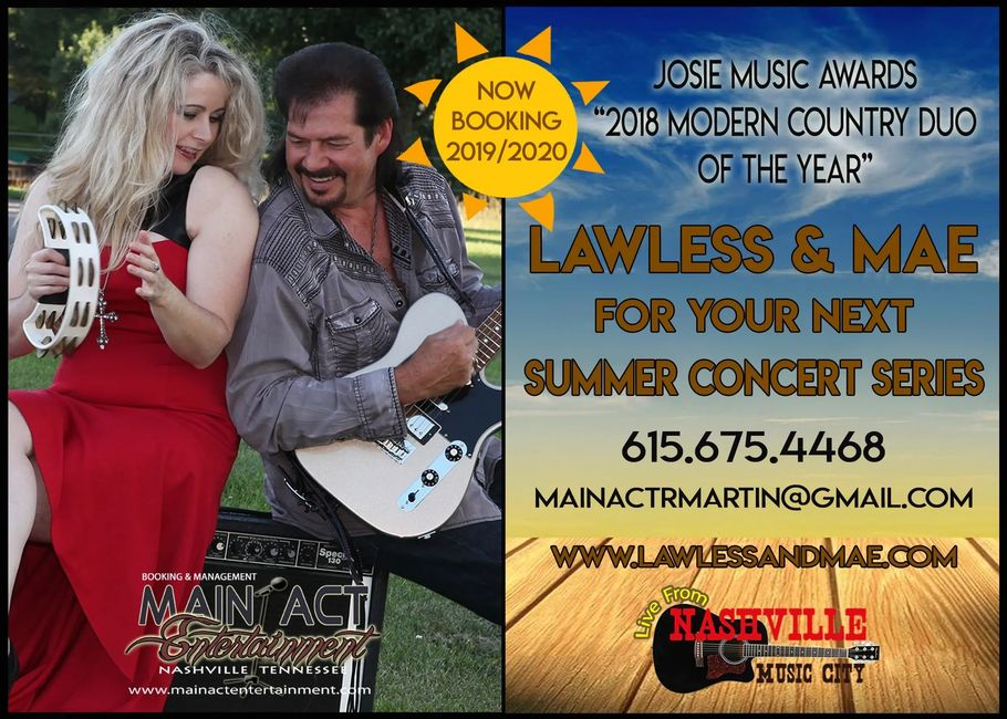 Today Show Summer Concert Series 2020.Specialty Shows Lawless And Mae