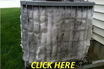 Air conditioner Heat Pump coil cleaning / maintenance tune-up
