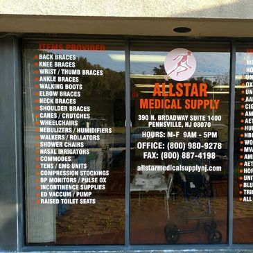 Allstar Medical Supply , NJ Based Medical Supply Store