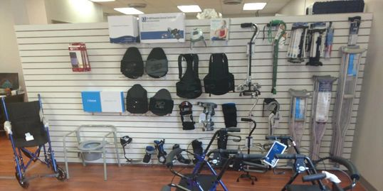 Allstar Medical Supply Store Showroom