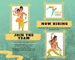 Are you a Bollywood Dancer 💃🏽🕺🏽? Then we want you. . . Looking for a passionate & committed Male