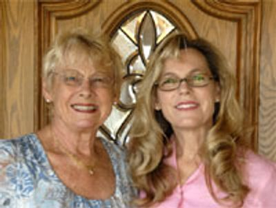 Barbara Resnick with her Daugter Stacey Maglior