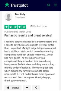 Genuine trustpilot review
