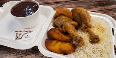 Chicken Fricassee, Cuban Combo, Cuban Food, Cuban Food Las Vegas