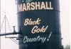 "Marshall - Painted Oil Barrel - on west side of Hwy 16 GPS: 53°11'44.4""N 109°46'36.6""W"