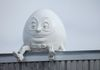 "Saskatoon - Humpty Dumpty - 1302 Quebec Ave & 34th St on top of Star Egg Building GPS: 52°08'43.5""N 106°39'48.1""W"