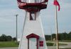 "Gimli - Light House - end of south Colonization Dr. & Hwy 9 south at Shelly D. Restaurant GPS: 50°36'58.4""N 96°59'40.7""W"