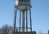 "Virden - Silver Water Tower - Wellington St, between 8th & 9th Ave  GPS: 49°50'53.9""N 100°56'00.2""W"