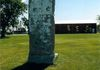 "Steinbach - Berlin Wall - near Mennonite Historical Museum,north end of city GPS: 49°33'00.5""N 96°41'13.5""W"