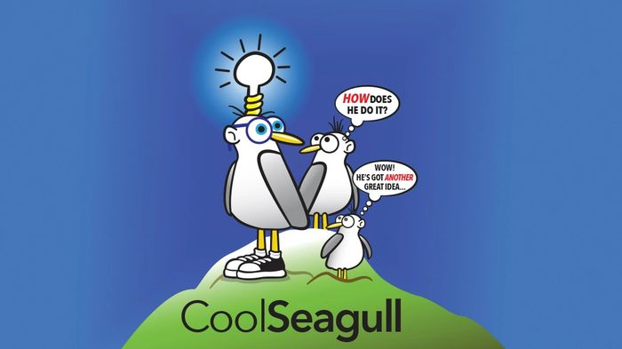 CoolSeagull Graphics & Design in Victoria, BC Canada using Creative Thinking for excellent results