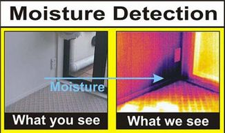 moisture inspection, full house inspection, full home inspection, commercial property inspection