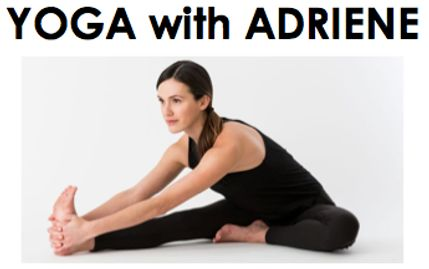 A beginners spinal flow from Yoga with Adriene