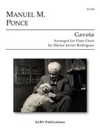 Gavota by Manuel Ponce arranged for Flute Choir. Click on the Image to listen to this arrangement.
