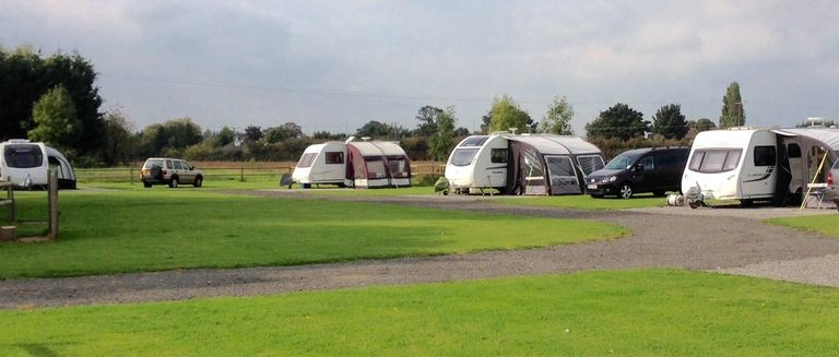 Skybarn Farm adult only Caravan and Motorhome Club Certificated Location near Lincoln