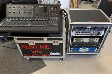 Pro Audio Rental Console Rental Digital Audio Console PA System Rental  Stage Lighting Rental