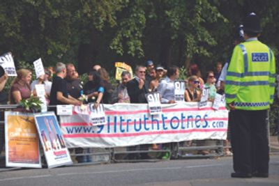Protest in support of 9/11 Truth