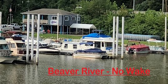 "Relax and Enjoy the Nature Surrounding Atmosphere - ""No Wake Beaver River!"""