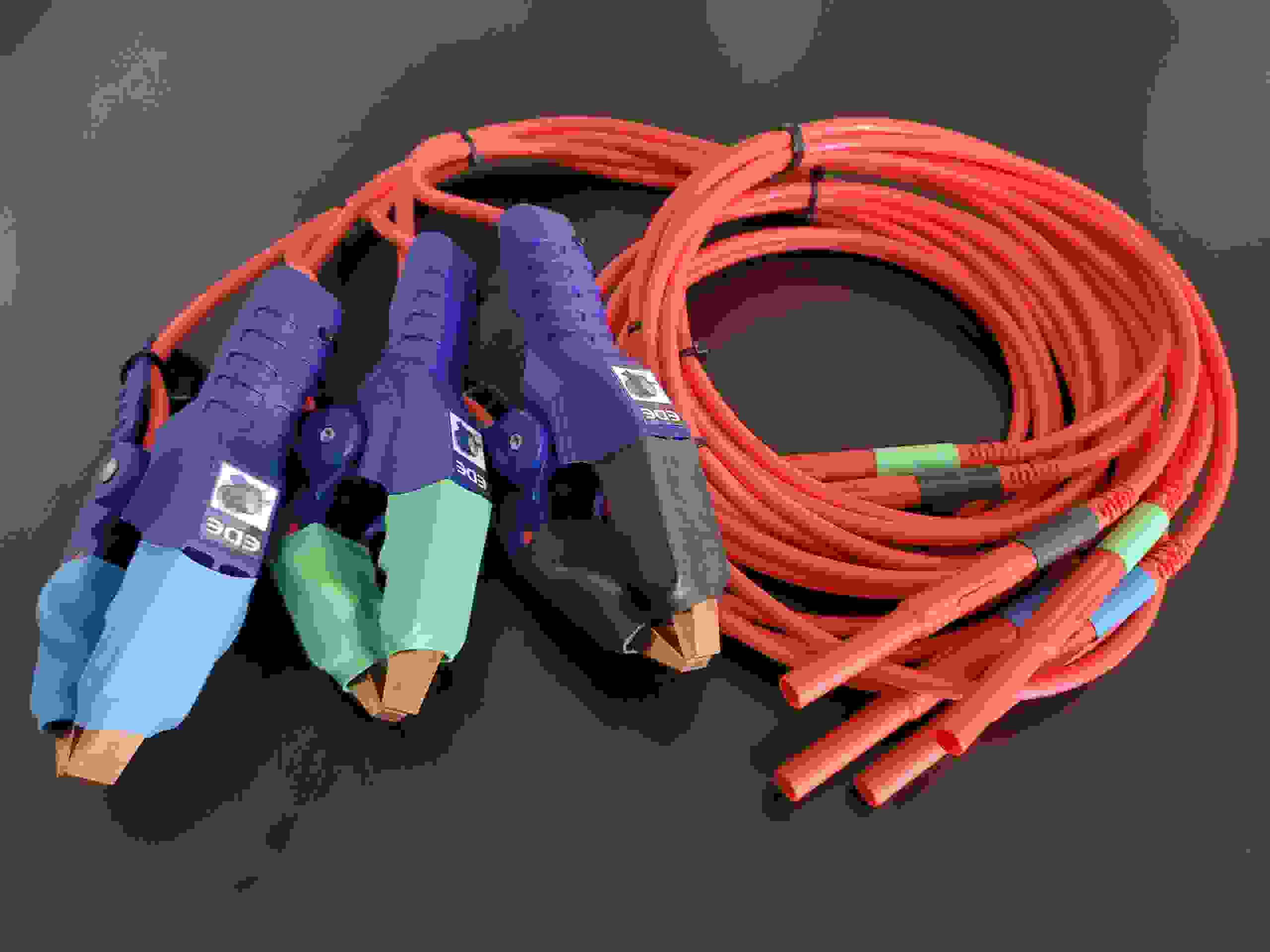 Heavy duty replacement test leads