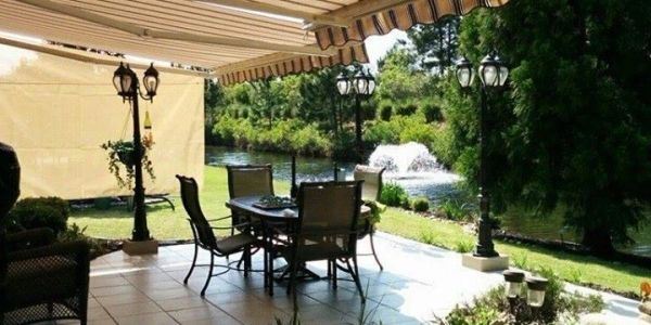 Budget friendly luxury awnings and shades in South Carolina.