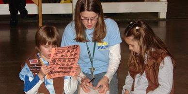Scout programs for girl, cub, and boy scouts
