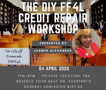 This workshop will help you to understand not only the  power of credit but how to create cashflow.